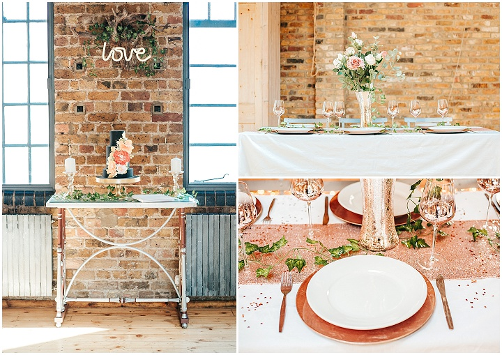 Super Glam, Rose Gold New Years Eve Inspired Wedding Inspiration