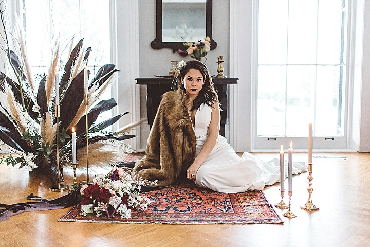 The Lion the Witch and the Wardrobe Inspired Winter Wedding Ideas