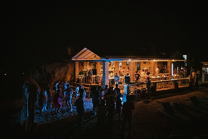 Lena and Jeremy's Boho Chic Beach Wedding in Croatia by Matija and Marina