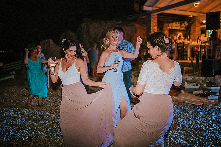 Lena and Jeremy's Boho Chic Beach Wedding in Croatia by Matija and Marina