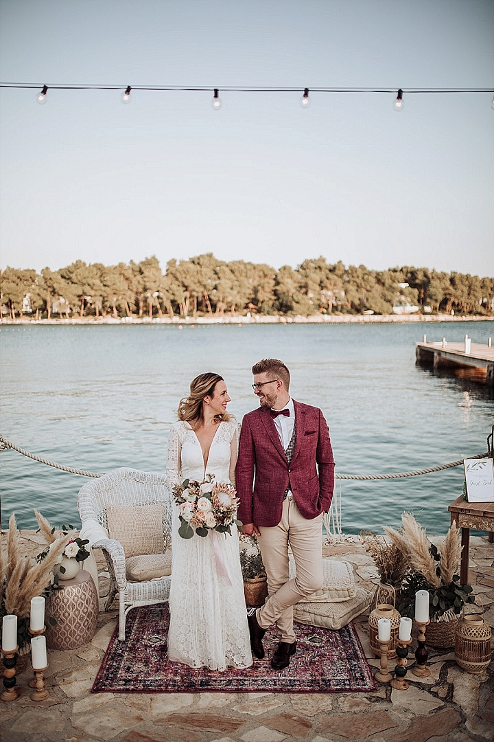 Nicolas and Marija's 'Magical Beautiful' Bohemian Wedding in Croatia by Adriatic Weddings Croatia and Martina Skrobot