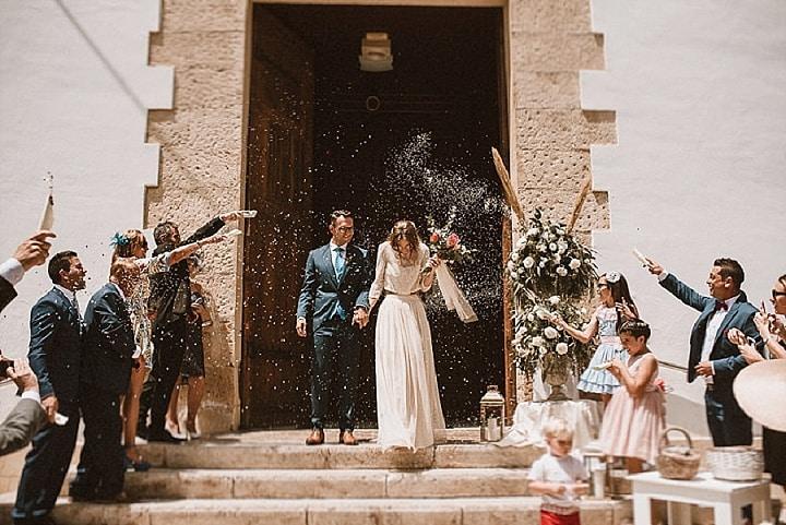 María and Sergio's Pretty Pastel Fashion Themed Spanish Wedding by Ambrosia Wedding and German y Vero