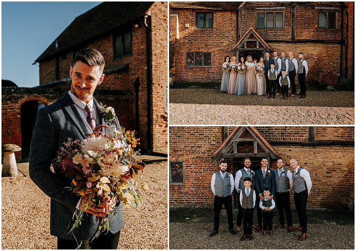 Charlie and Jack's Cosy Homemade Autumn Wedding by M and G Photographic