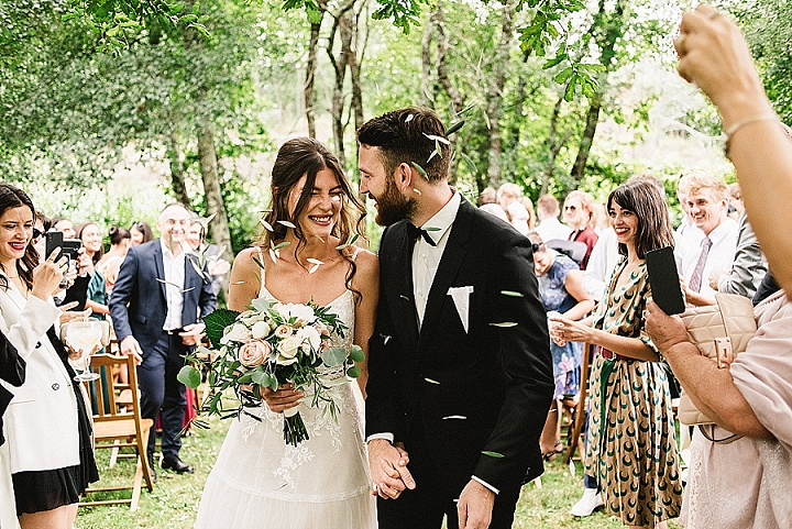 Anna and Menne's 'Loose Boho' Outdoor DIY Wedding in Portugal by Piteira Photography