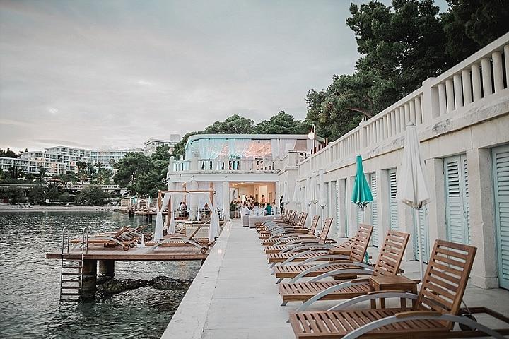 Tom and Bond's Beautiful Outdoor Wedding in Croatia by Robert Pljuscec