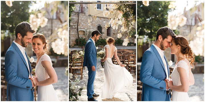 Léa & Harry's Relaxed French and Greek Fusion Wedding in Crete by Crete For Love and Andreas Markakis Photography