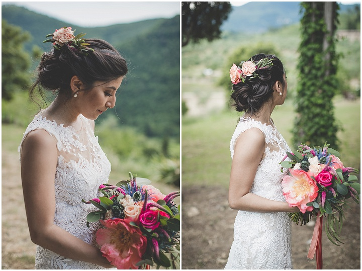 Llew-Ann and Steve's Colourful Ribbon Filled Tuscany Wedding by Wedding In Wonderland and Rosapaola Lucibelli