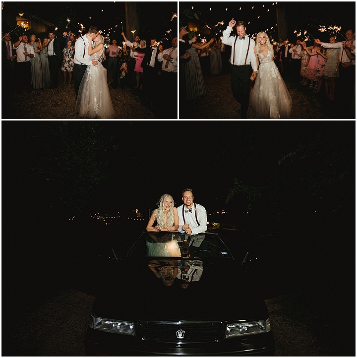 Allison and William's Mismatched Boho Wedding in Texas With Earthy Rustic Vibes by Mae Rachelle Photography
