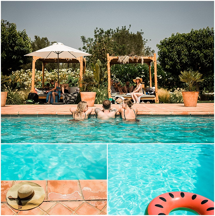 Miles and Emily's 'Ibiza Chic' Beautiful Villa Wedding by Eclection Photography