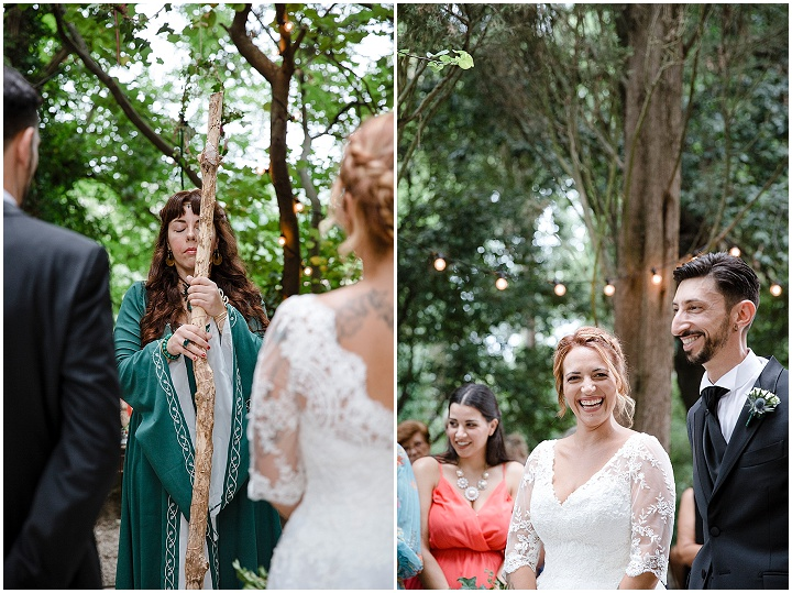 Chiara and Mirko's Celtic Ritual Nature Loving Wedding in Italy by Loving Marche Wedding