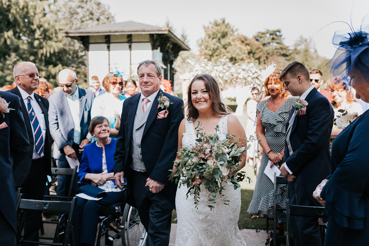 Melissa and Steven's Super Glam Peacock Themed Wiltshire Weddingby Kate Gray Photography
