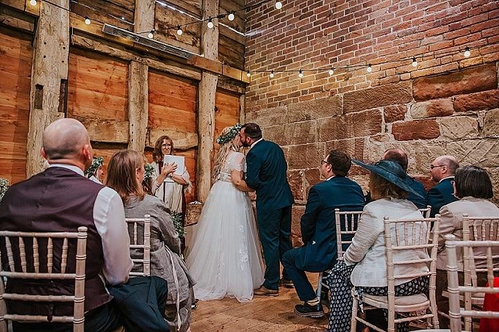 Thomasand Joyce's Vintage Inspired Home Spun Summer Barn Wedding by Maddie Farris Photography