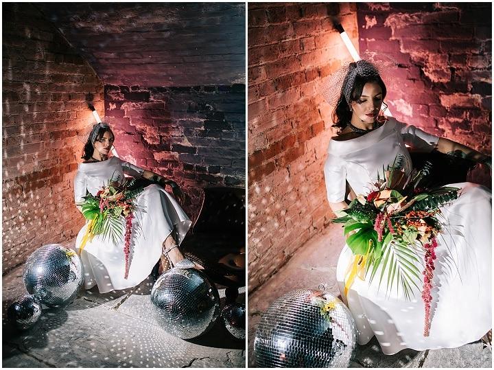 'Glitter Balls and Boho Vibes' Boho meets Studio 54 Wedding Inspiration