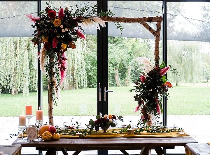 'Big Bold Blooms' Rustic Meets Contemporary Barefoot Bride Wedding Inspiration