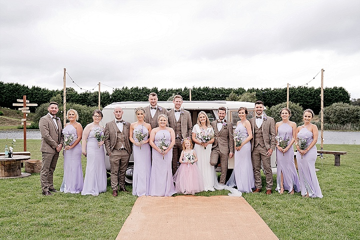 Jade and Jonathan's 'J Fest' Festival Style Wedding in Cheshire by Laura May Photography