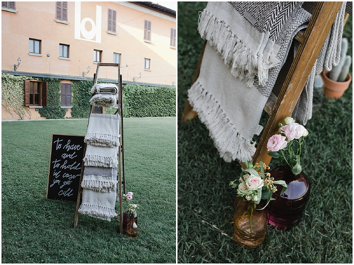 Anna and Ilaria's Bright and Beautiful Cactus Filled Outdoor Italian Wedding by Laura Stramacchia