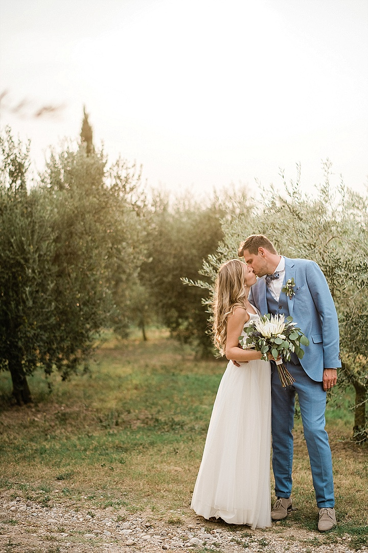 Chris and Caroline's Beautiful Outdoor Italian Wedding With Dancing Under The Stars by ManiSol Wedding