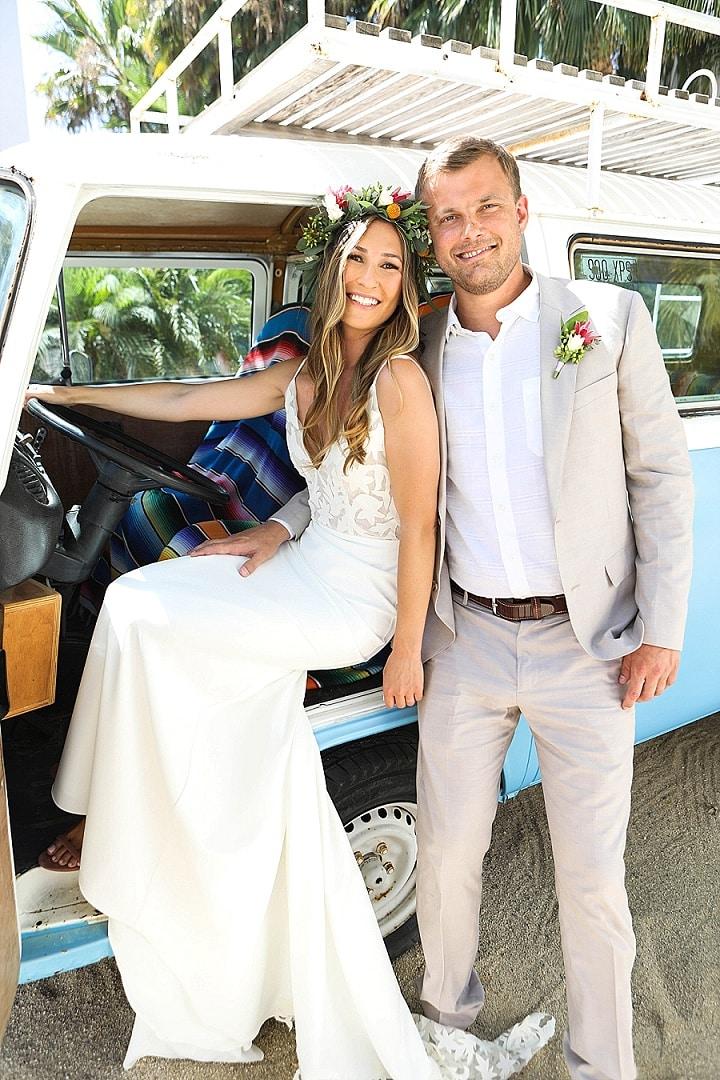 Kelsey and Tristan's Boho Beach Wedding in Mexicoby DeNeffe Studios