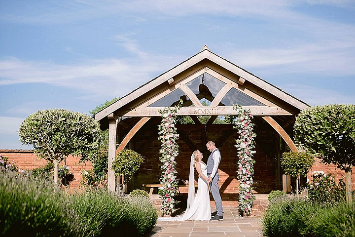 Susie and Dom's Pretty Pastel Devon Barn Wedding By Jennifer Jane Photography