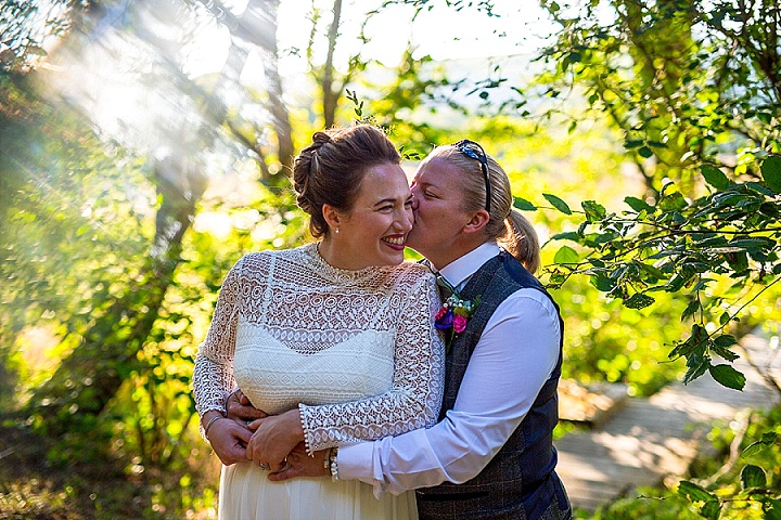 Zara and Rachel's Wildflower Loving Weekend Long Welsh Wedding by Joe Lewis Photography