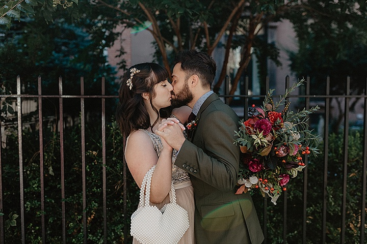 Jess and Dustin's Brunch Brooklyn Wedding With Autumn Colours by Nicole Nero Studio