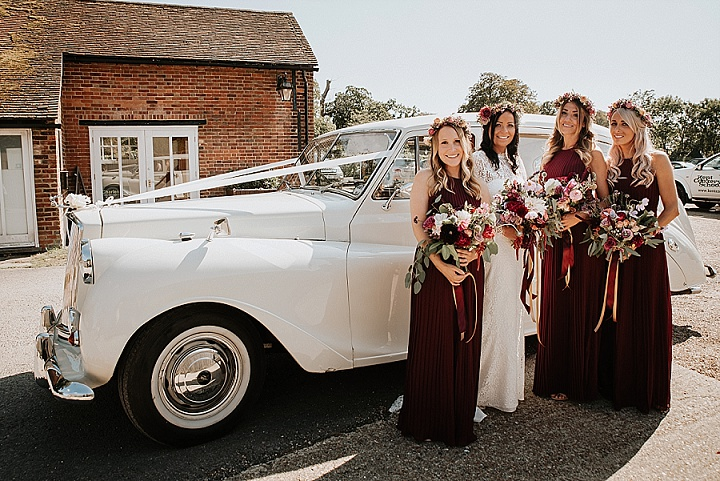 Sally and David's Relaxed 'Secret Garden' Wedding in Kent by Michelle Cordner Photography