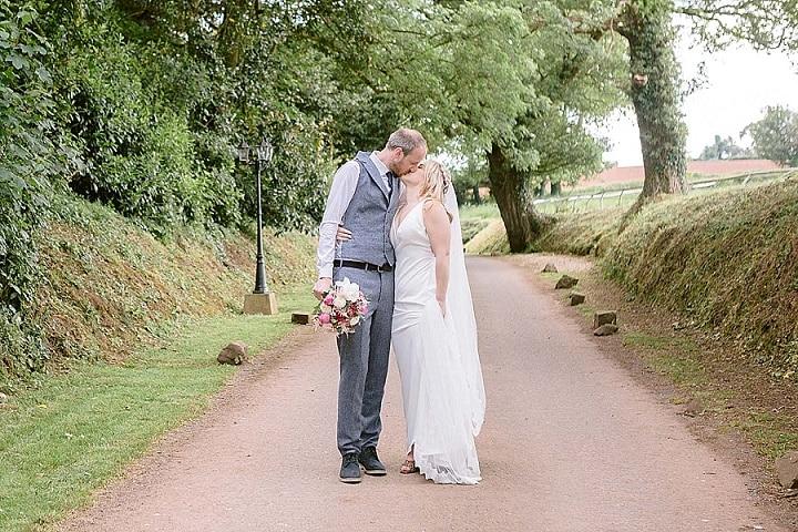 Susie and Dom's Pretty Pastel Devon Barn Wedding By Jennifer Jane Photography