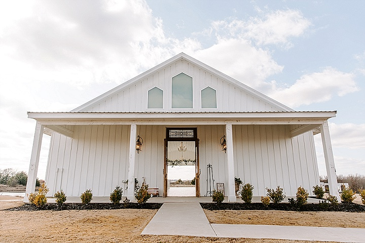 Caitlin andSamuel's Greenery and Pampas Grass Food Truck Texas Wedding by Local Embers & Co