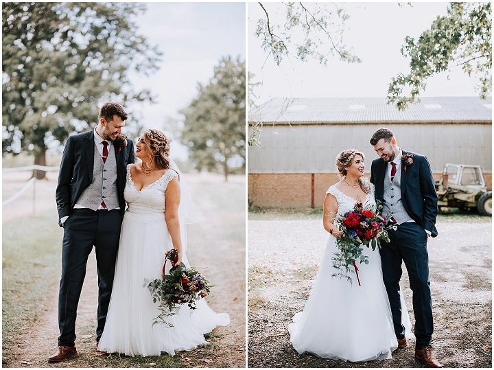 Hannah and Jack's Autumn Jewel Tones and Country Glam Tipi Wedding by Sally Rawlins Photography