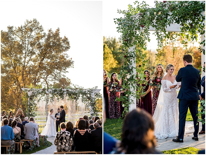 Chelsea and Jake's 'Boho Chic' Macramé Filled Autumn Wedding in Colorado