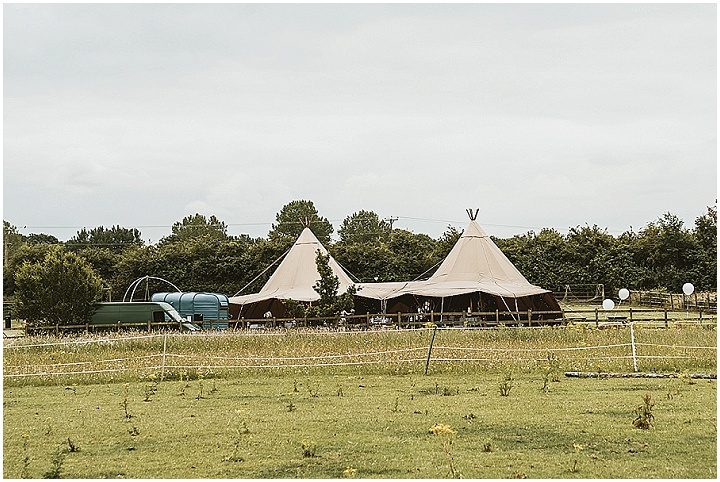Gina and Per's 'Country Chic' Lavender Inspired Tipi Wedding by Benni Carol