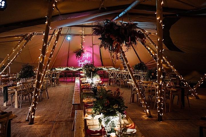 'Better Together' Illuminating Love Contemporary Tipi Wedding Inspiration