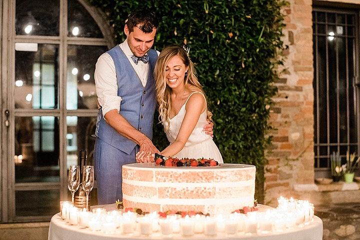 Chris and Caroline's Beautiful Outdoor Italian Wedding With Dancing Under The Starsby ManiSol Wedding