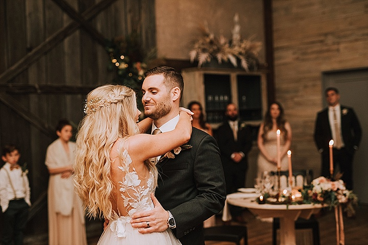 Natalie and Steven's Flower Filled 'Rustic Romance' Wedding in Pennsylvaniaby MLE Pictures