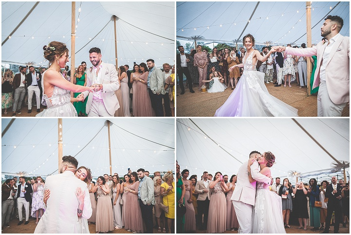 Sophie andPaul's Fun Filled Hand Made Garden Wedding at Home by Lase Photography