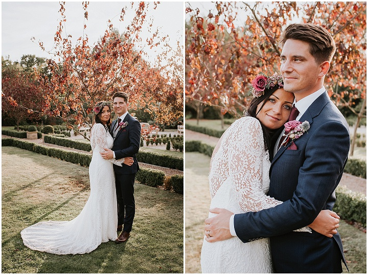 Sally and David's Relaxed 'Secret Garden' Wedding in Kentby Michelle Cordner Photography