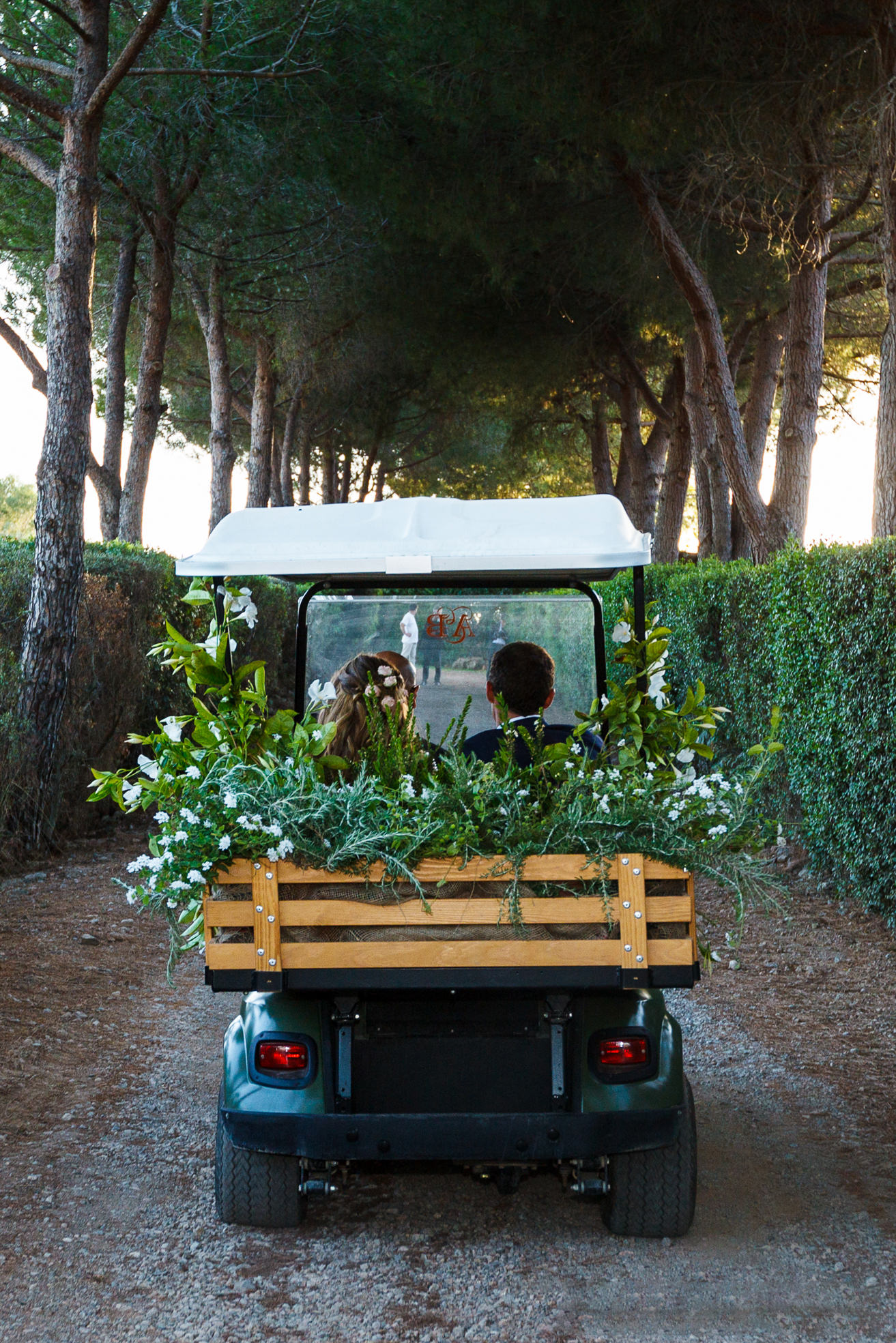 Benedetta and Alessio's Super Glam 'Country Chic' Tuscany Wedding Held at Home by Enzo Miccio