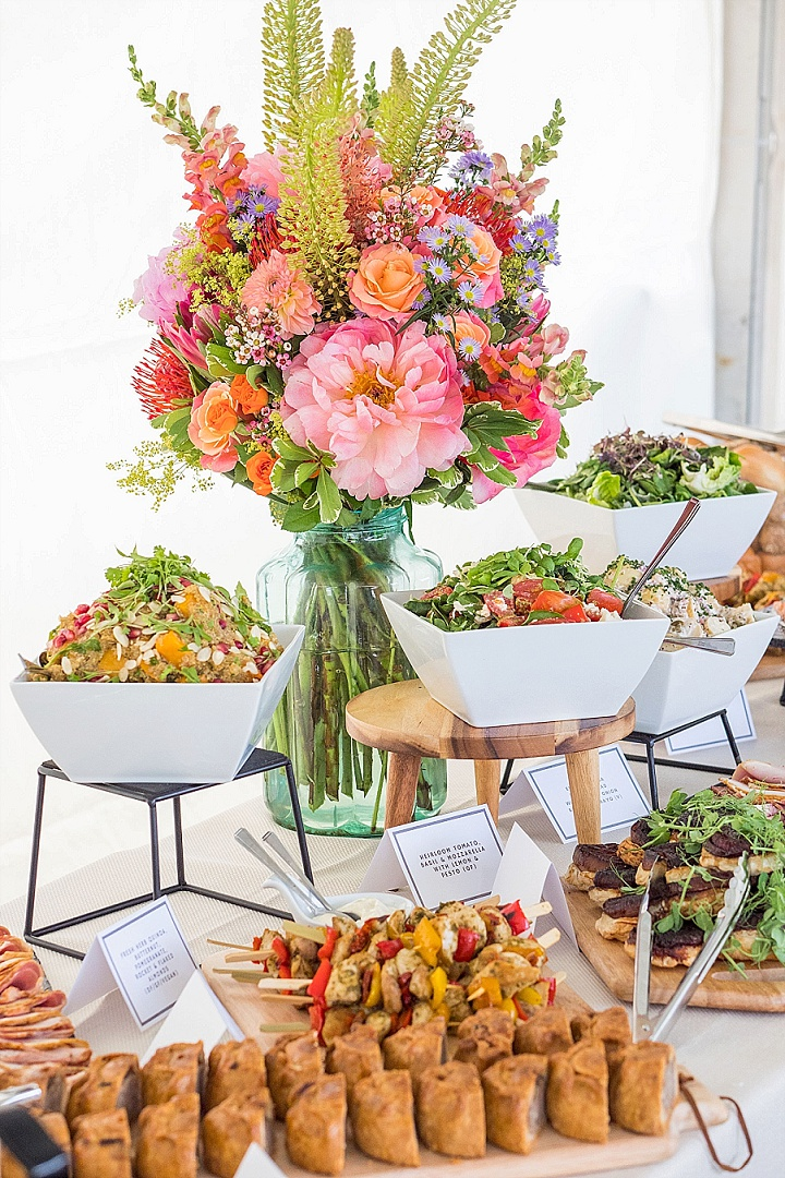 Ask The Experts: What Food To Serve at Your Wedding? With Goose and Berry