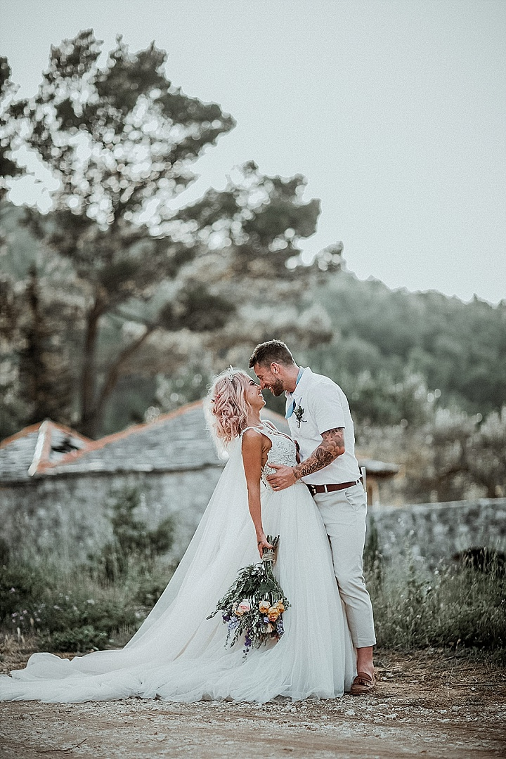 Lisa and Robert's 'Dream Catchers and Glitter' Woodland Fairy Croatia Wedding by Aloha Weddings