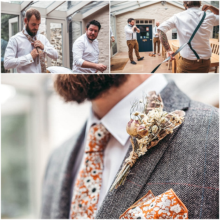 James and Steph's Hand Made Rustic Farm Wedding in Devon by Tracey Warbey Photography