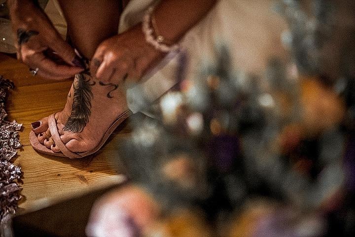 Lisa and Robert's 'Dream Catchers and Glitter' Woodland Fairy Croatia Wedding by Aloha Weddings