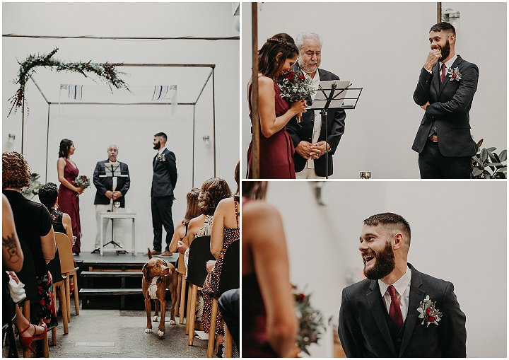 Megan and Chad's 'Our Way' Roof Top Jewish Wedding in Atlanta by Aline Marin Photography