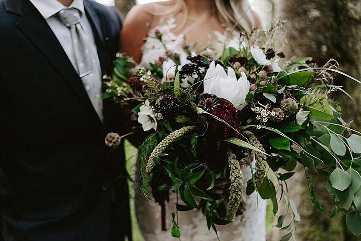 'Mountain Elopement' Gothic Chic Wedding Inspiration