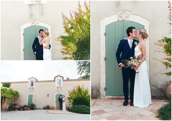 Grace and Craig's Laid Back French Countryside Wedding by Jessica Grace Photography