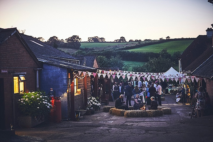 Meg and Andrew's Bright and Beautiful Boho Style Festival Wedding in Devon by Nova Wedding Photography