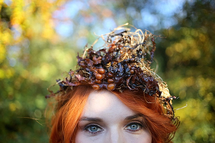'Kissed By Fire' Eclectic, Natural, Autumnal Wedding Inspiration