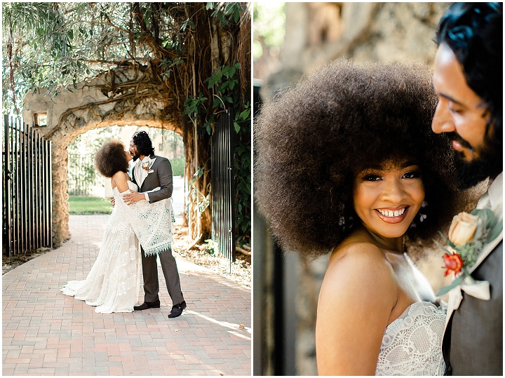 '70's Retro Bohemian Dream' Miami Elopement Inspiration