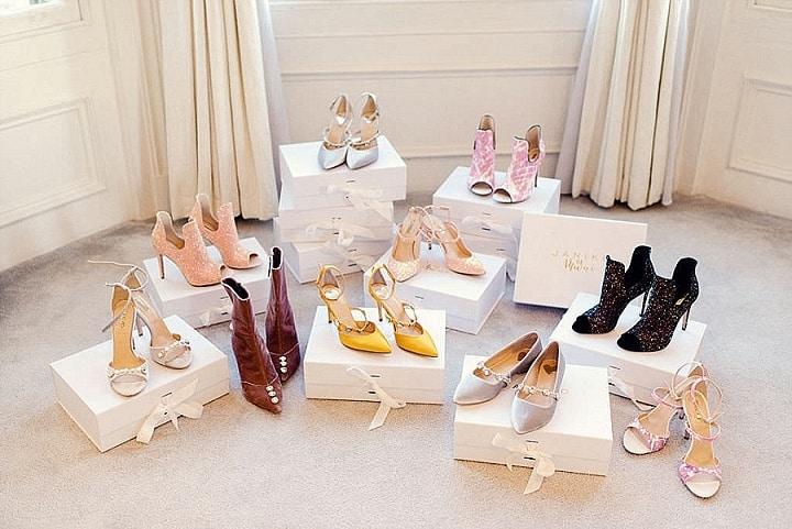 When The Shoe Fits, She Wears it Proudly - Bridal Footwear Wedding Inspiration