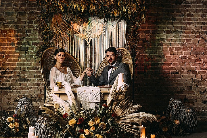 'Dare to be Bold' Decedent Detailing and Deep Earthy Hues Wedding Inspiration