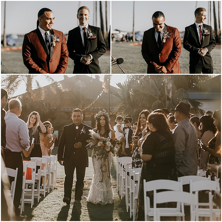 Thomas and Ariana's 'Earthy Boho' Flower Filled San Diego Wedding by Astray Photography